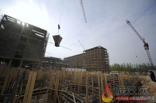 富士康 睢县 培训基地建设项目进展顺利
